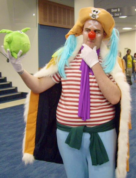 Buggy the Clown. (One Piece)