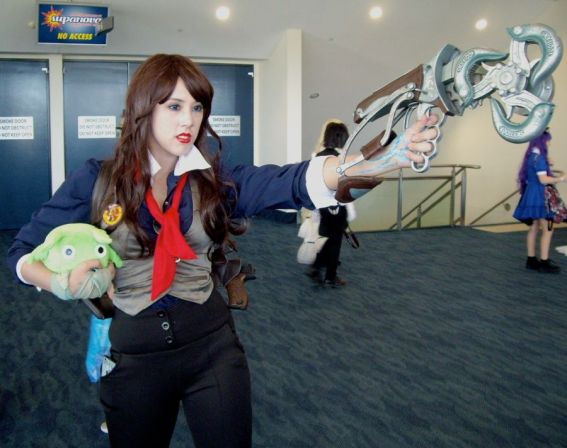 Reverse Gender Booker Dewitt. (Bioshock: Infinite).