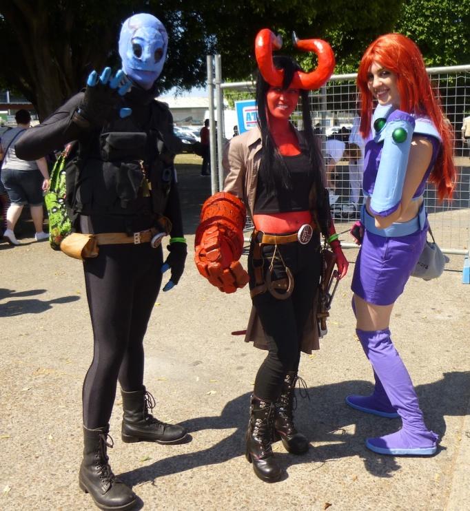 Abe Sapien, Hellboy (Rule 63), Dark Horse Comics. Starfire, DC comics.