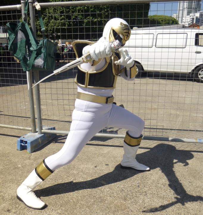 The White Ranger, Mighty Morphin Power Rangers.