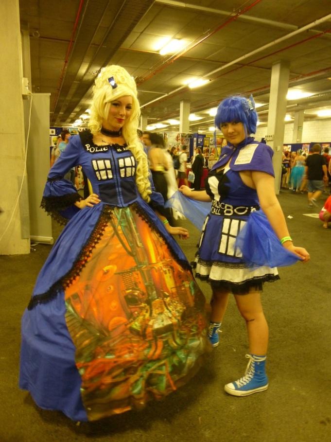 The Tardis, and the Tardis (Gijinka), Doctor Who.