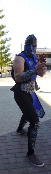 Sub Zero, Mortal Kombat.