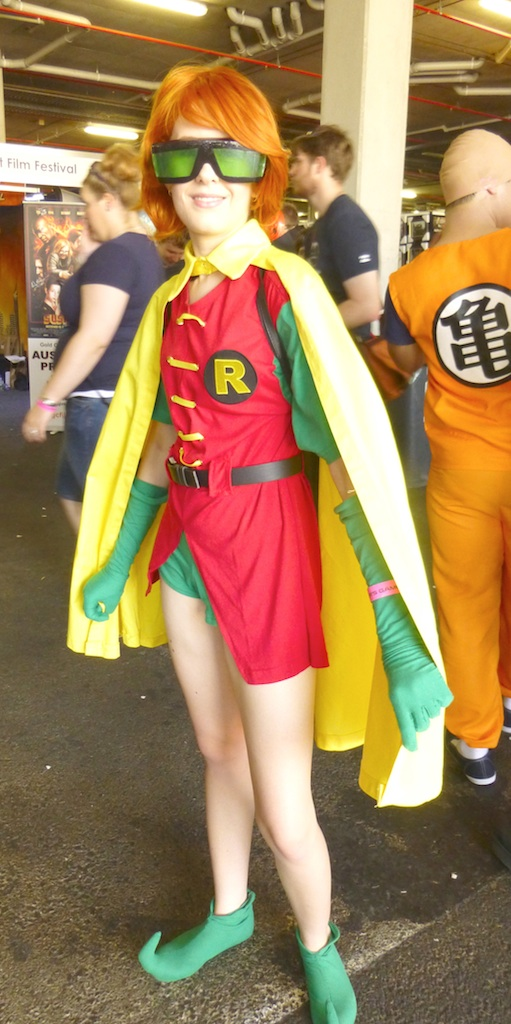 Robin (Carrie Kelly), DC Comics.