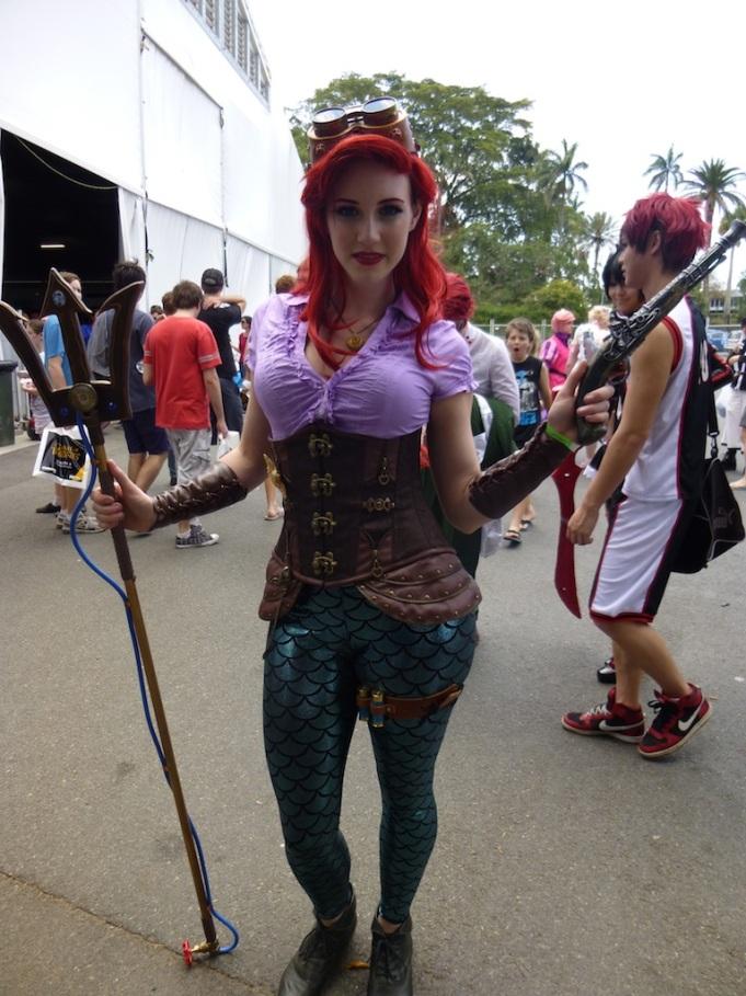 A Steam Punk Ariel, The Little Mermaid.