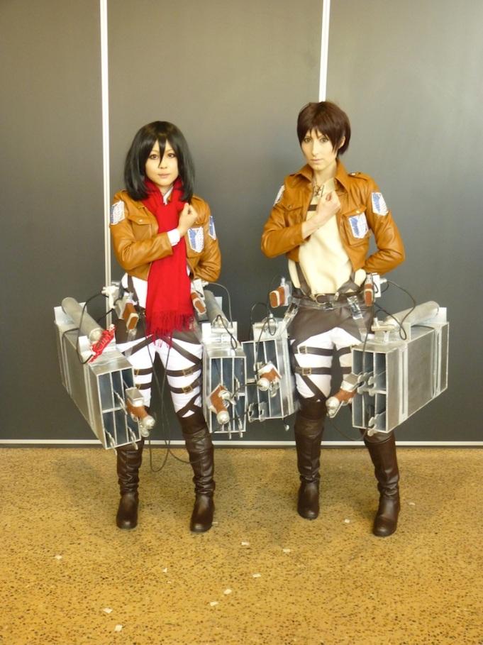 Mikasa Ackerman and Eren Yeager, Attack on Titan