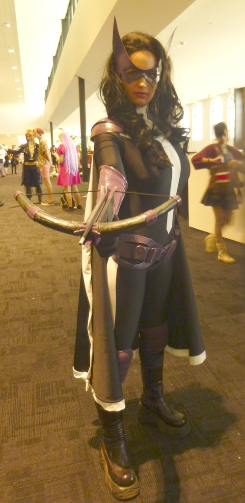 Huntress, DC comics.