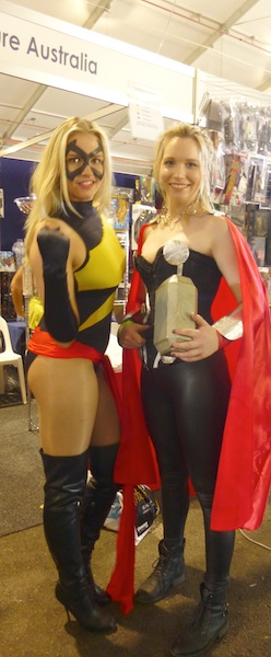 Ms. Marvel, Thor (Rule 63), Marvel Comics.