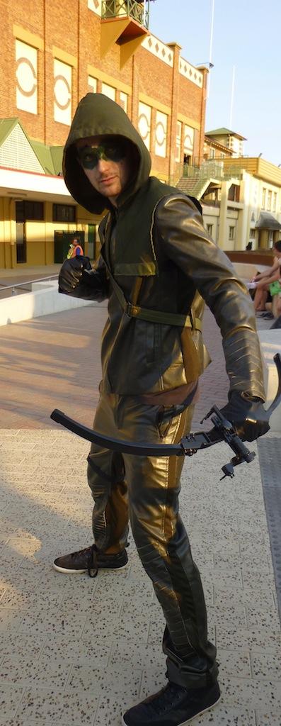 The Vigilante, Arrow.