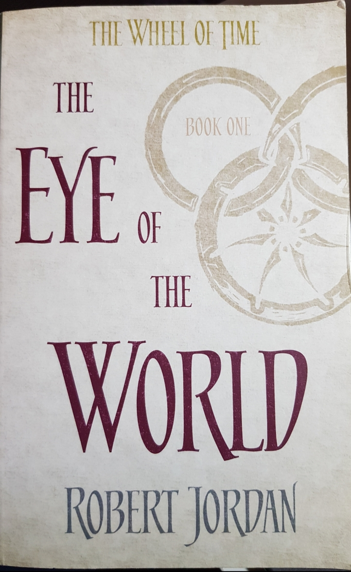 An image of the Eye of the World Book Cover
